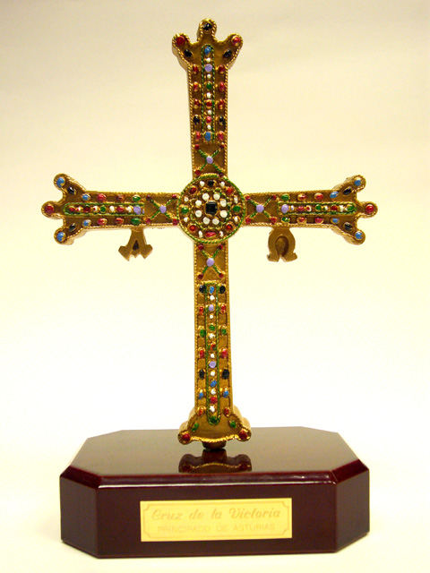 CRUZ DE LA VICTORIA DECORADA